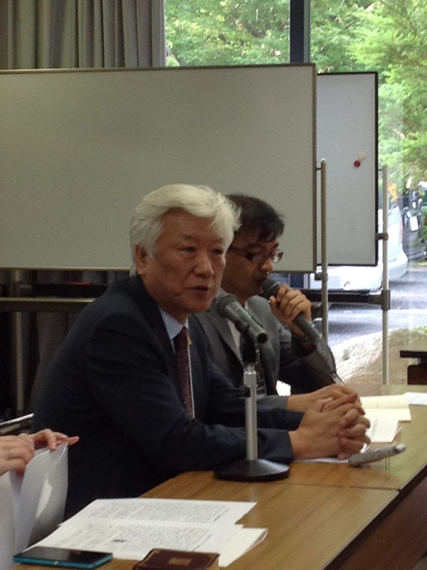 第1回エキュメニカル・ネットワーク協議会(1):日本のエキュメニカル運動の課題と展望 韓国教会から安倍談話の歴史認識問う声