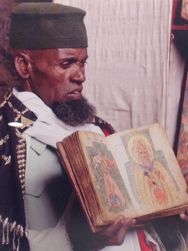 天理大学参考館、祈りテーマにキリスト教の企画展 エチオピア正教のイコンに感じる土着と素朴で力強い祈り