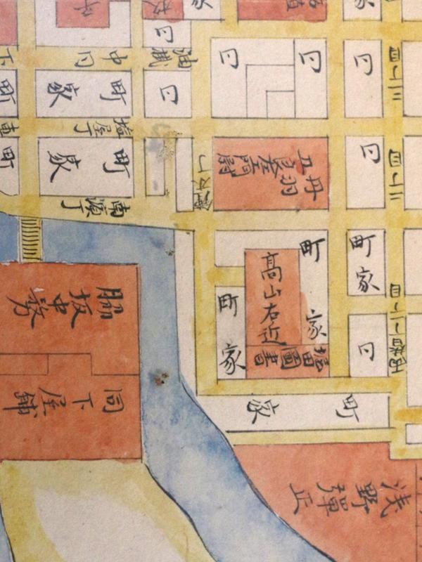 月桂冠が所蔵する豊臣時代から徳川時代にかけての伏見城下町を描いた古絵図(写真:月桂冠提供)