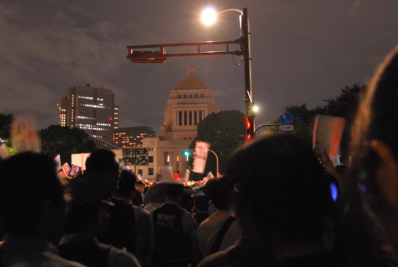 8・30大行動:キリスト者は国会正門前か日比谷公園霞門に集合を 宗教者九条の和が呼び掛け