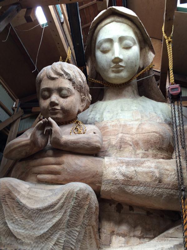 巨大マリア像、南島原市が寄贈受け入れから一転拒否へ 市民から「政教分離に反する」の声で