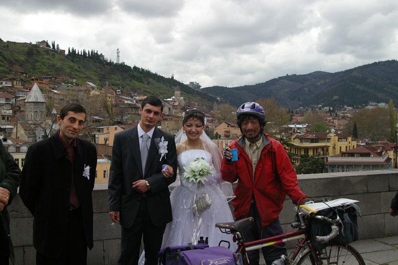 世界自転車旅行記(13)アゼルバイジャンからジョージアへ 木下滋雄