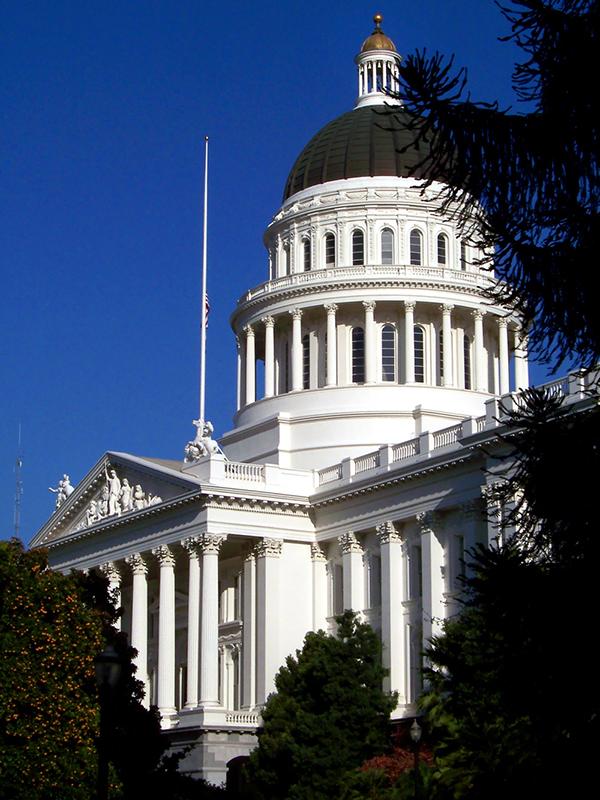 米カリフォルニア州議会議事堂(写真:Nikopoley)