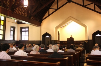 日本のプロテスタント宣教の草分け ヘボン博士生誕200年記念礼拝、明治学院で開催
