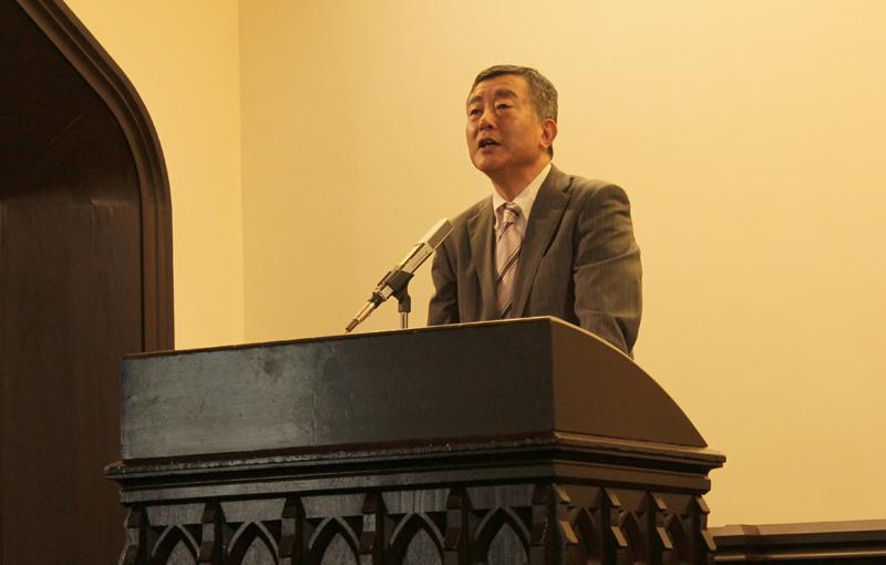 プロテスタント宣教の草分けヘボン博士 生誕200年の記念礼拝および記念講演が明治学院チャペルにて開催