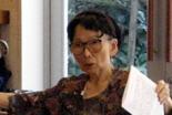 賛美歌誕生の背景や作曲家の生涯を解説する大塚野百合氏=11日、東京・中目黒キリスト教会で