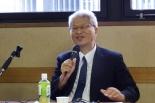 シリーズ「日本の伝道を考える」刊行記念シンポ 上田光正氏「聖霊が起こす信仰復興運動が必要」