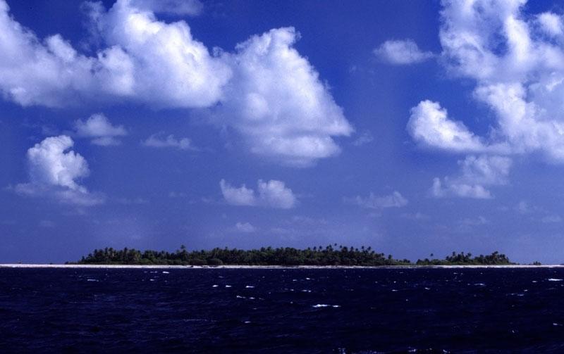南太平洋の島国であるツバルの首都フナフチ。同国民の9割以上はクリスチャンだ。(写真:mrlins)