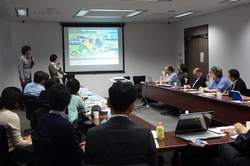 第4回メディアフォーラムの様子=10月21日、横浜情報文化センター(横浜市)で