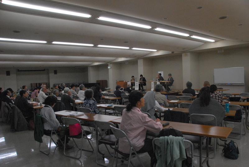 シンポジウム「人間のいのちと尊厳」=10月24日、東京カテドラル関口教会で