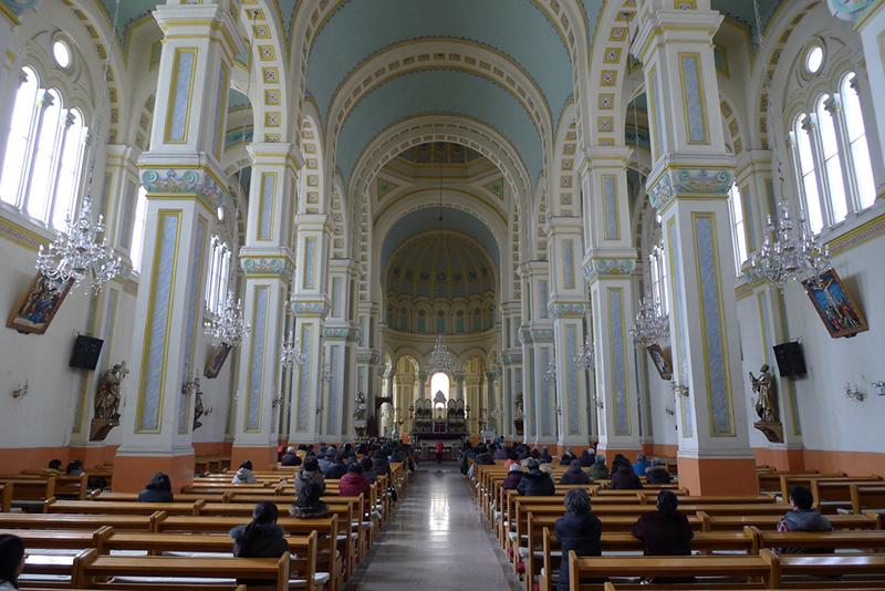 中国天津市の旧フランス租界(外国人居留地)にある西開天主教堂(写真:bricoleurbanism)