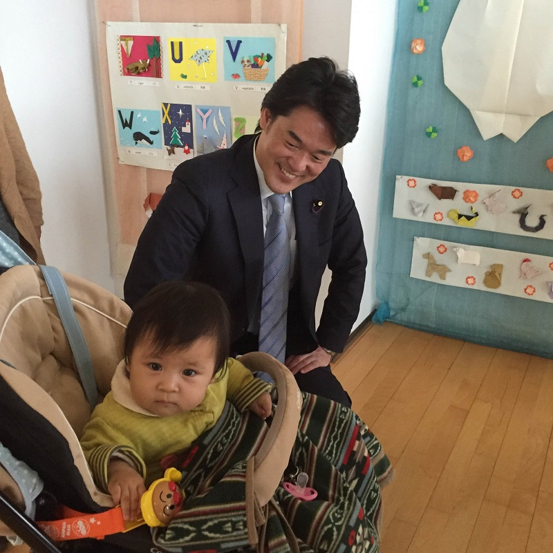 安保関連法に反対するママの会@ちば 小西洋之参議院議員と懇談