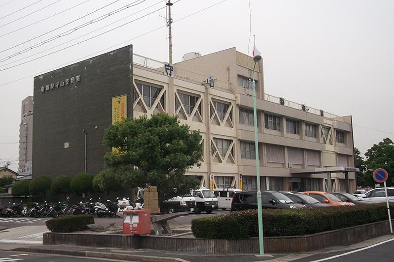 女性が自首しに来た愛知県警守山署(写真:円周率3パーセント)