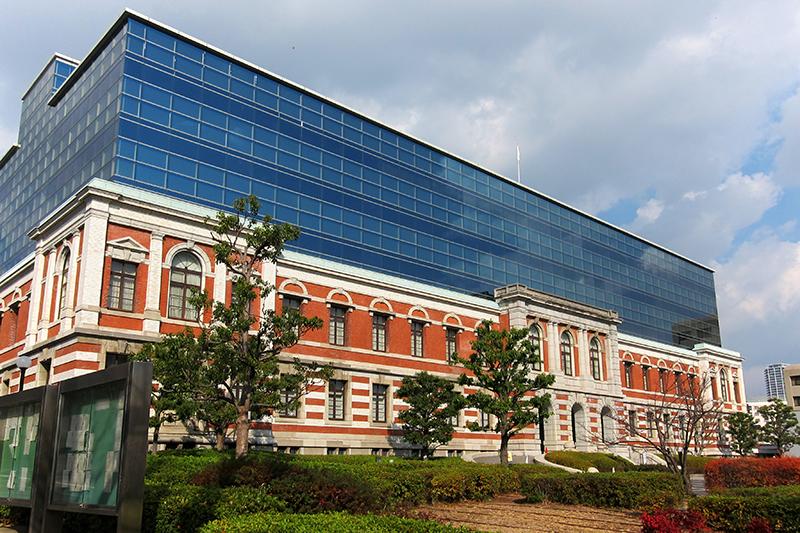 元兵庫県議員の野々村竜太郎被告(49)の初公判が予定されていた神戸地裁(写真:Oilstreet)