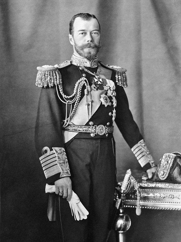帝政ロシア最後の皇帝ニコライ2世