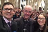 カンタベリー大主教「若い人々をただ楽しませるだけでなく、イエスに出会う手助けをせよ」