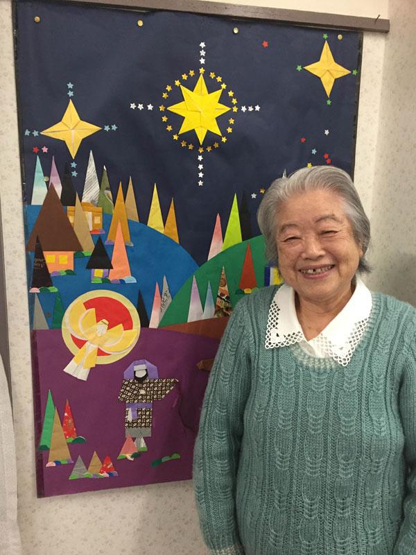日本古来の折り紙で魅せる「イエス様のご降誕」 根本晃子さん