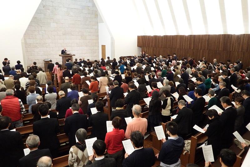 日本聖書協会クリスマス礼拝 「この世で解決できない問題はない」総主事がメッセージ