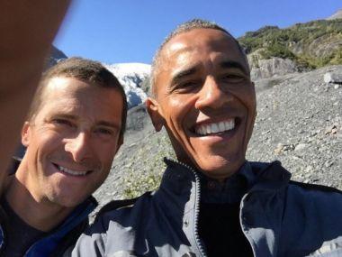 グリルスとオバマ大統領は、2人とも実践的なクリスチャンだ。(写真:インスタグラム)