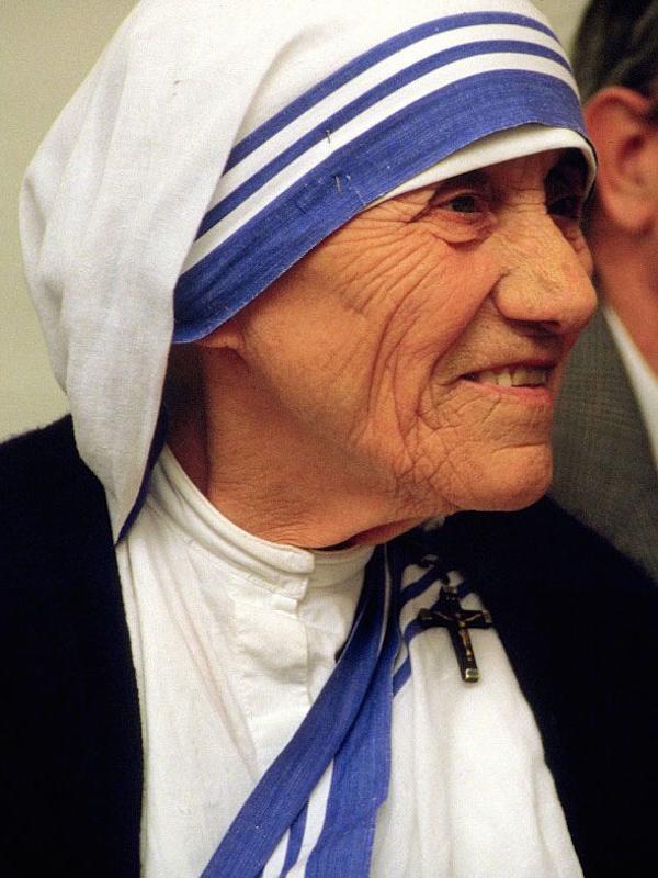 マザー・テレサ(写真:トゥレリオ)<br />