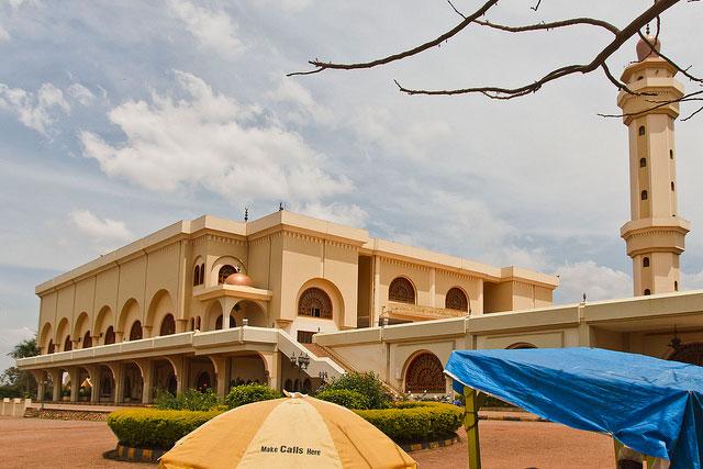 ウガンダの首都カンパラにある国立モスク(写真:Mike Freedman)