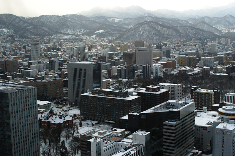 冬の札幌市内の様子=2012(写真:Konstantin Leonov)