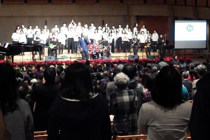 「ゴスペルは良き知らせ」第23回所沢市民クリスマス Meguちゃんやトコろんも登場