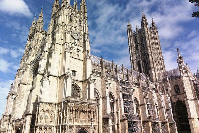 英国国教会のカンタベリー大聖堂(写真:Dmitry Dzhus)