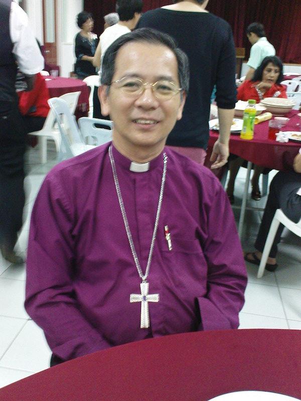 来月に聖公会の東南アジア大主教になる西マレーシアのング・ムーン・ヒング主教(写真提供:Edmundwoods)