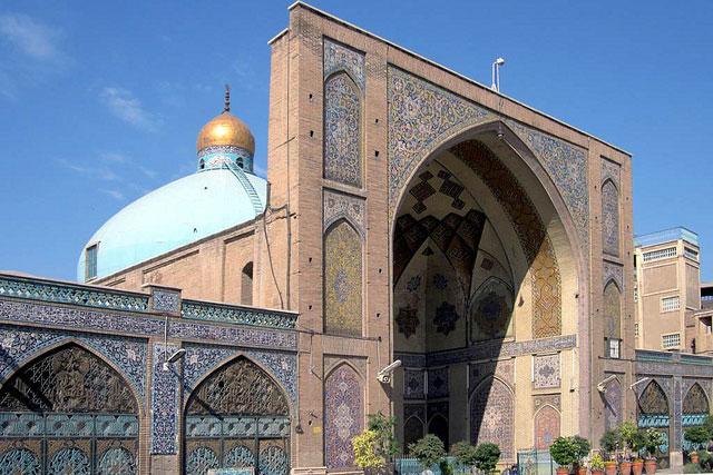 イランの首都テヘランにあるイマーム・ホメイニ・モスク(写真:David Stanley)