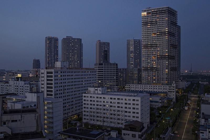 高層マンションが立ち並ぶ東京都江東区東雲(写真:tokyoform)