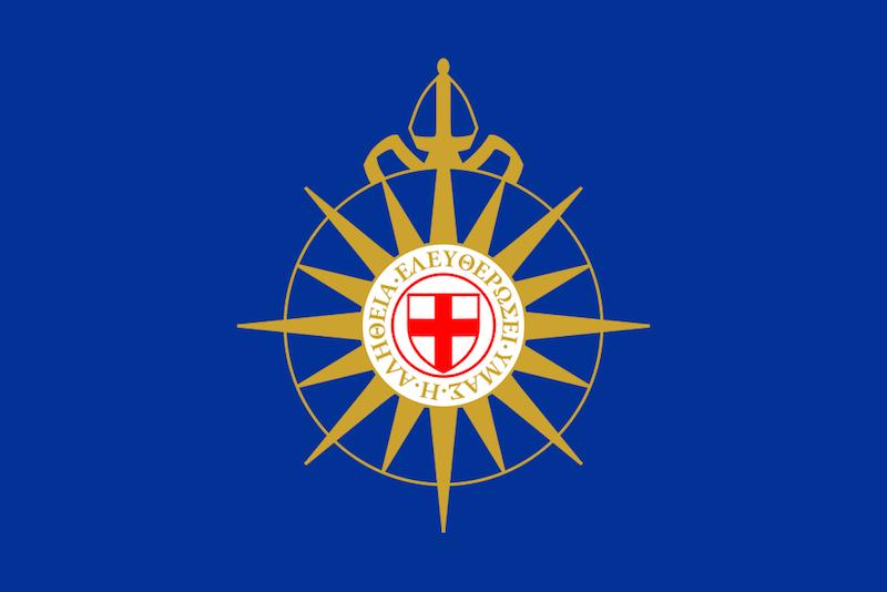 アングリカン・コミュニオンの羅針図の旗(画像はAlekdjs)