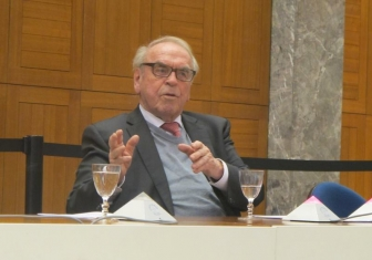 ドイツの神学者 ユルゲン・モルトマン氏、WCCを訪問(動画あり)
