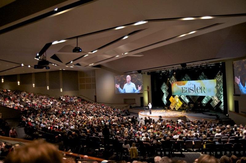 米ミネソタ州リノレイクスにあるメガチャーチ「イーグルブルック教会」(写真:同教会)