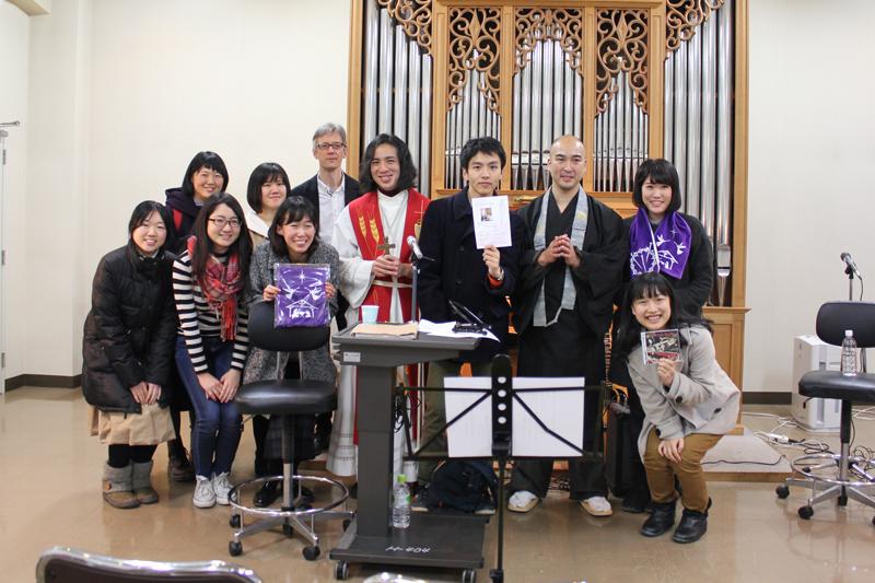 音楽から対話がはじまる 牧師と僧侶、異色な2人による講演会 ICUで開催