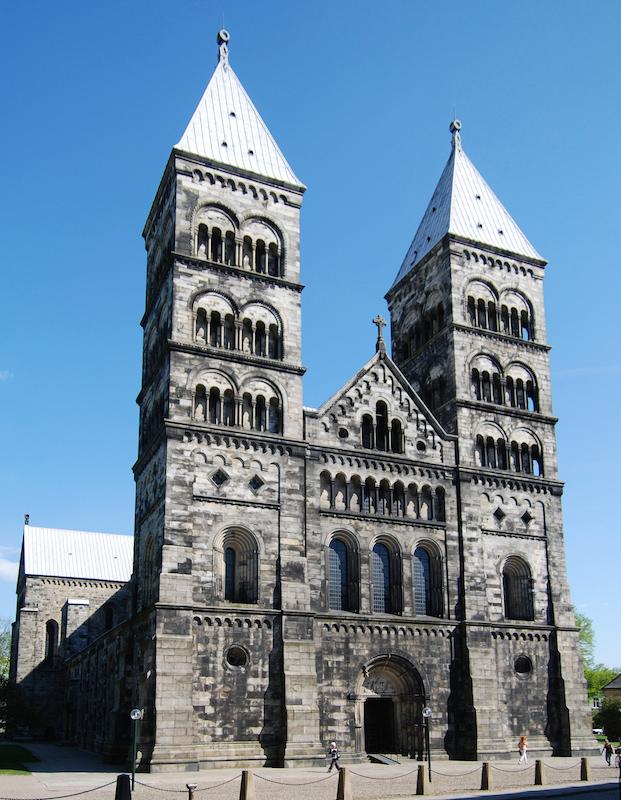今年、宗教改革の記念行事が行われるルンド大聖堂(写真:Anton Holmquist & Pauline Gyllengahm Soasta)