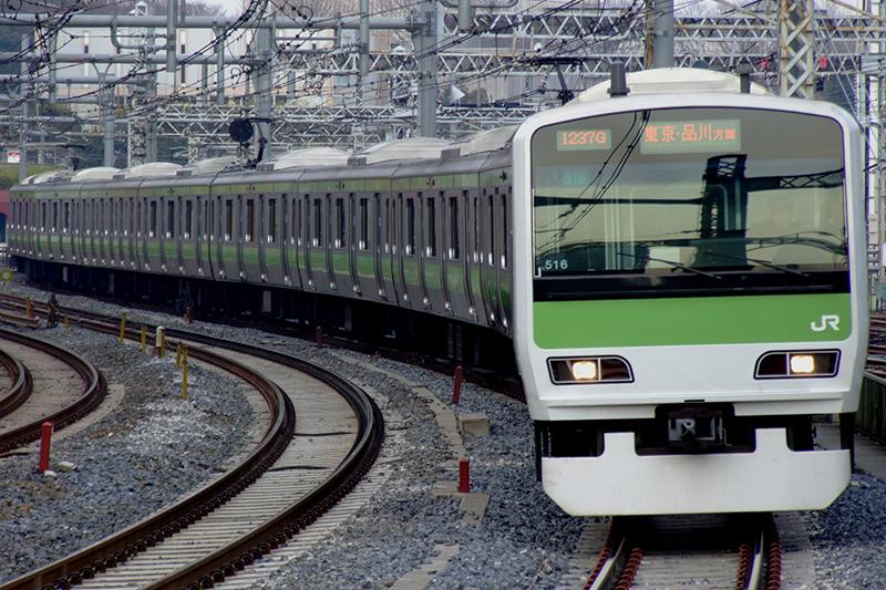 JR山手線の電車(写真:LERK)