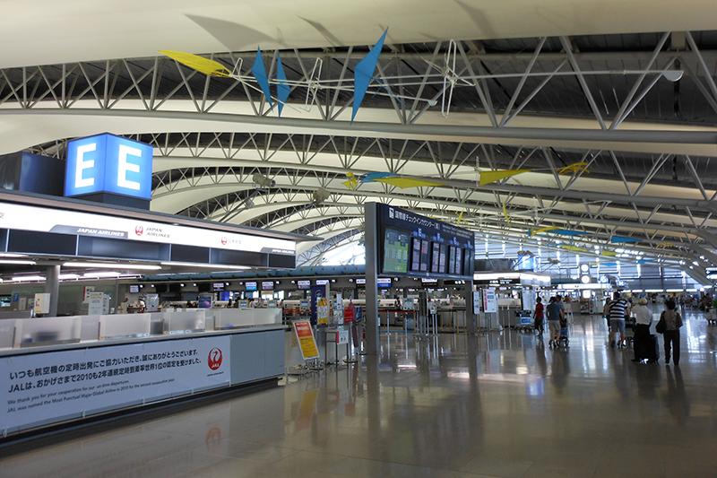 関西国際空港内の様子(写真:Kirakirameister)