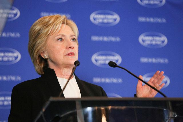 ヒラリー・クリントン氏(写真:Brookings Institution)