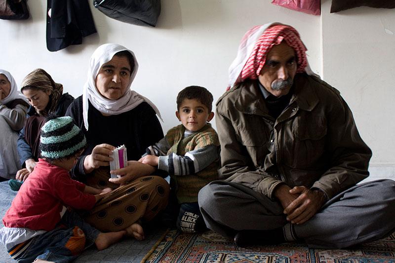 チェコ共和国の難民受け入れの表明を受け、イラクのキリスト教徒が入国