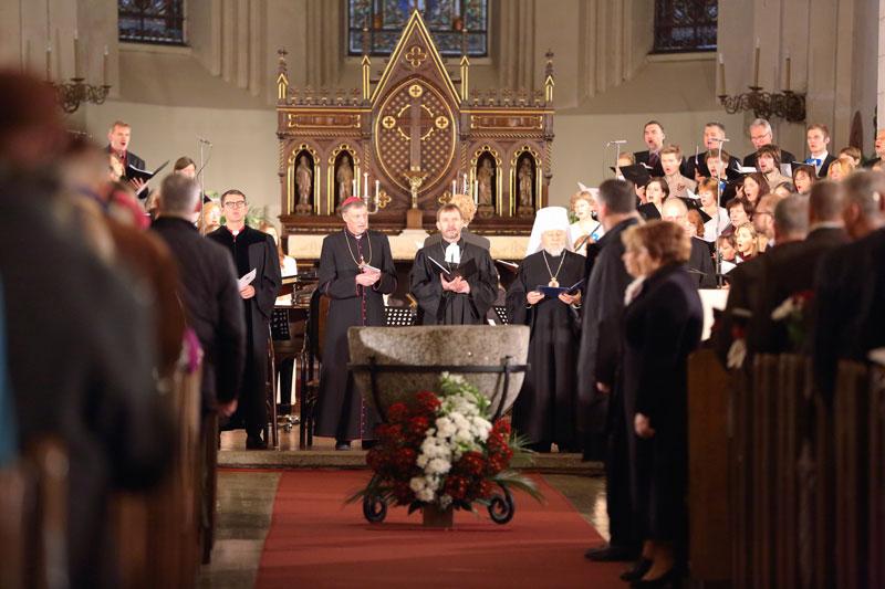 キリスト教一致祈祷週間で焦点のラトビア共和国、諸教派が協力