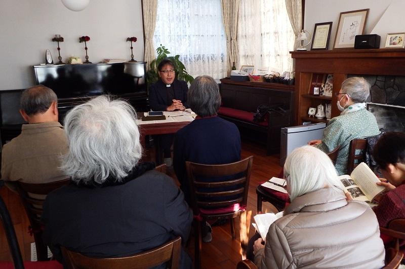 ヴォーリズ建築によみがえる聖書教室 旧静岡英和女学院宣教師館でアシュラムの集い開催