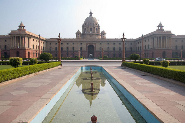 インド首相府(写真:Laurie Jones)