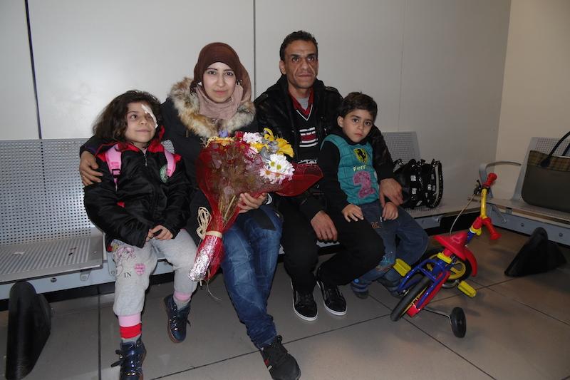 「人道的通路」プロジェクトによる最初の難民、イタリアに到着