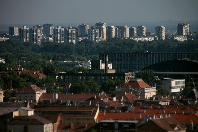 クロアチアの首都ザグレブ(写真:Martin Terber)