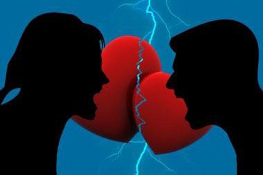 けんか中の夫と妻の間でやり取りしている言葉は、その「親密さのレベル」により、さらに深い影響を与える。(画像:Pixabay)