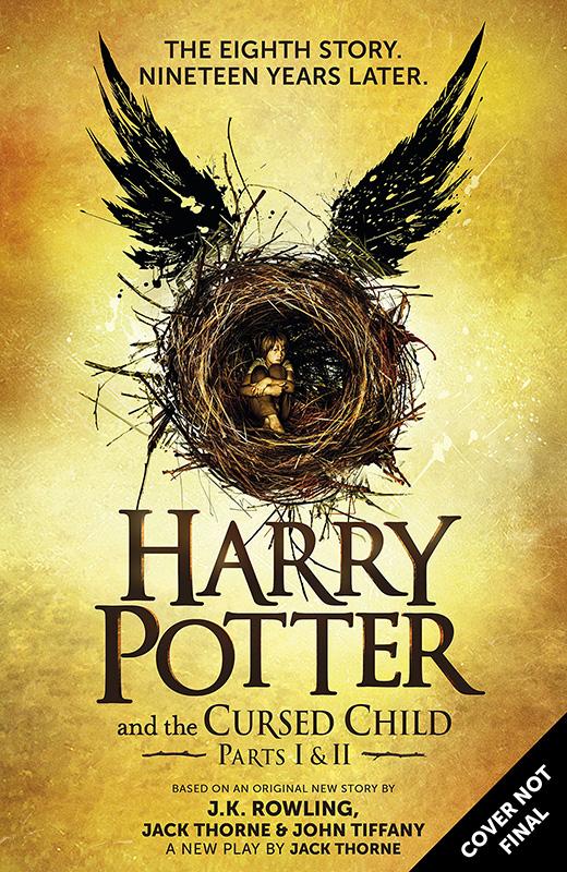 7月31日に発売される「ハリー・ポッター」シリーズ最新作・8作目の『ハリー・ポッターと呪われた子ども(Harry Potter and the Cursed Child)』<br />