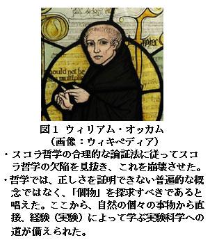 【科学の本質を探る㉖】中世スコラ学者による近代科学への貢献(その2)スコラ哲学を崩壊させ、哲学を神学から分離したスコラ学者
