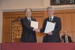 青山学院と静岡英和女学院「教育提携」に関する協定を締結 礼拝堂で調印式
