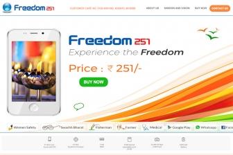 世界最安420円のスマホ「Freedom 251」 インドのリンギング・ベルズが発売
